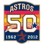 Astros 50th Anniversary Logo