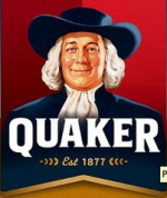 Larry the Quaker Logo