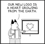 Rejected Dilbert Logo