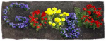 Google Flower Earth Day Logo