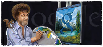 Bob Ross Logo Design