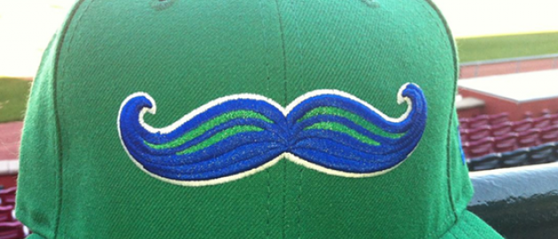 Legends Mustache Logo Design