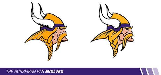 New Vikings Logo Design