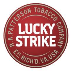 New Lucky Strike Logo Design
