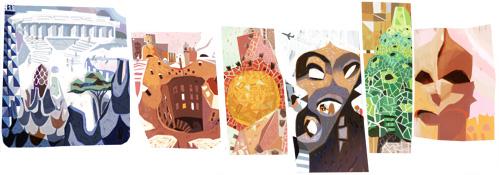 Gaudi Google Logo Design