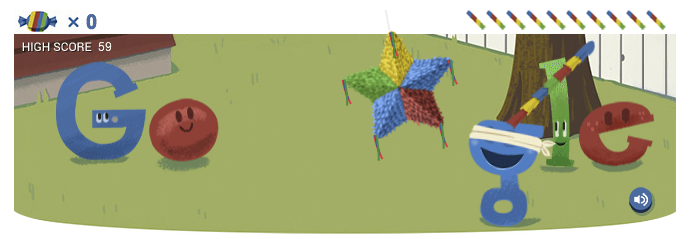 Google Birthday Party Logo Design