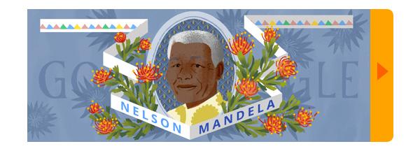 Google Nelson Mandela Logo Design