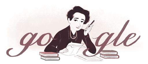 Hannah Arendt Google Logo Design